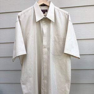 Nordstrom Short Sleeve Dress shirt - Size XL